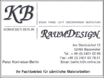 Raumdesigner Konheiser-Berlin