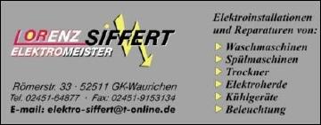Elektromeister Siffert